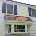 Copper Sheet Metal Roofing